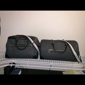 NWT Michael Kors 2 Piece Luggage Set